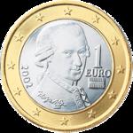 1 euro mozart austria