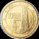 10 cent austria euro santo stefano