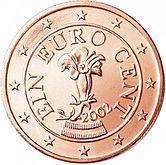 1cent euro austria genzianella