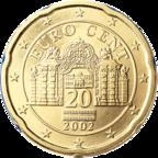 20 cent austria euro belvedere vienna