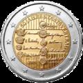 2euro austria commemorativo 50anni trattato stato